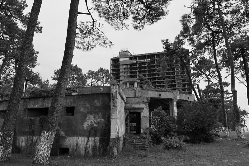 Abandoned Soviet era spa